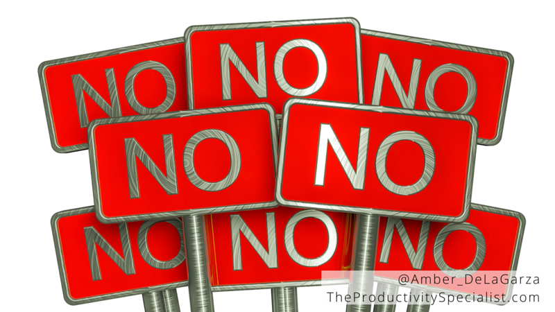 Why You Need To Say No