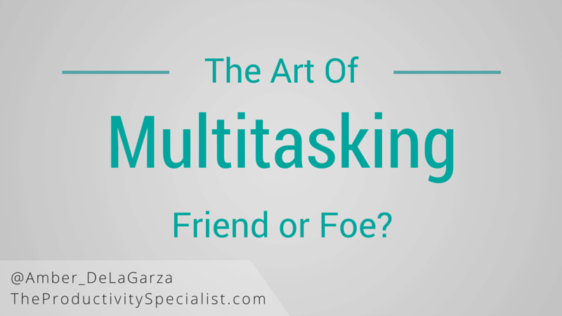 The Art of Multitasking: Friend or Foe?