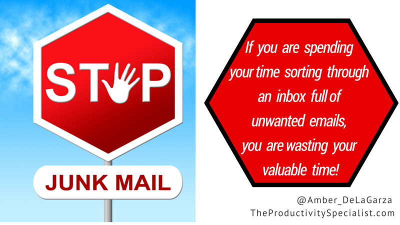 How Can You Stop Unwanted Emails?