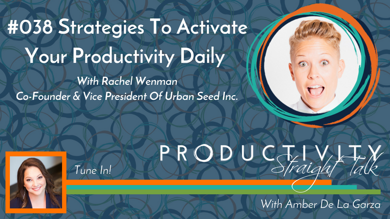 038_Strategies To Activate Your Productivity Daily With Rachel Wenman NEW