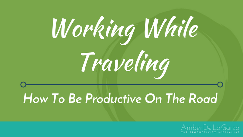 Working While Traveling How To Be Productive On The Road