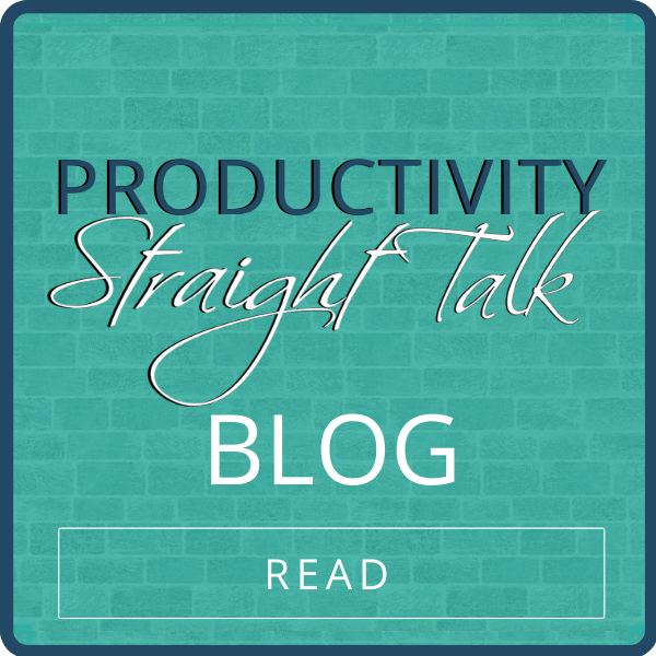 Productivity Straight Talk Blog
