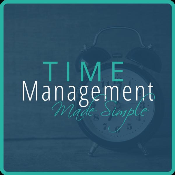 Time Management Made Simple Program