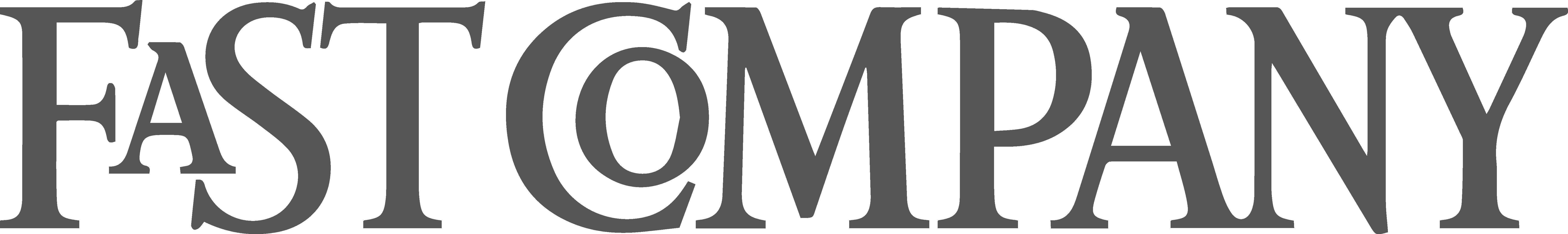 Logo Dark Gray - Fast Company