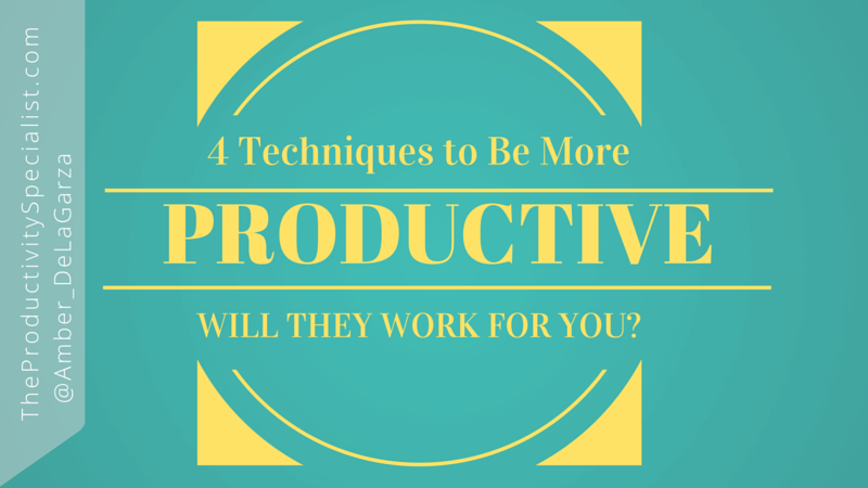 4-techniques-to-be-more-productive
