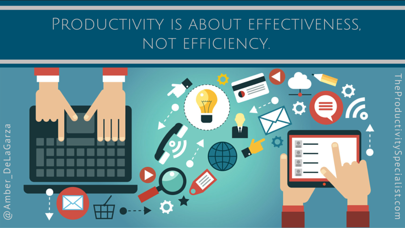 Productivity: There's No App For That!