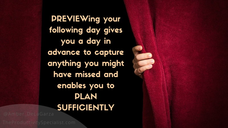 How To Conquer Your Day Using The 5 Daily Planning Pavers